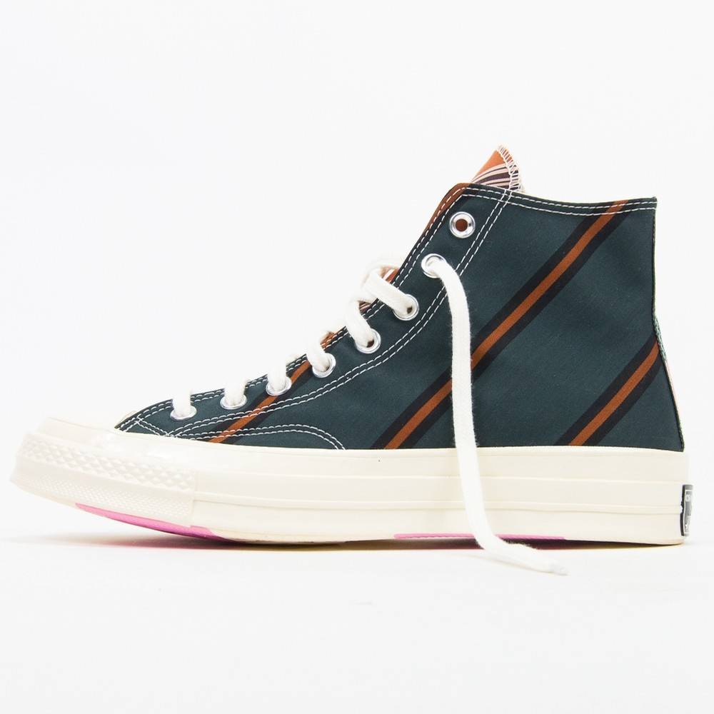 Chuck 70 Hi (Green/Orange/White)