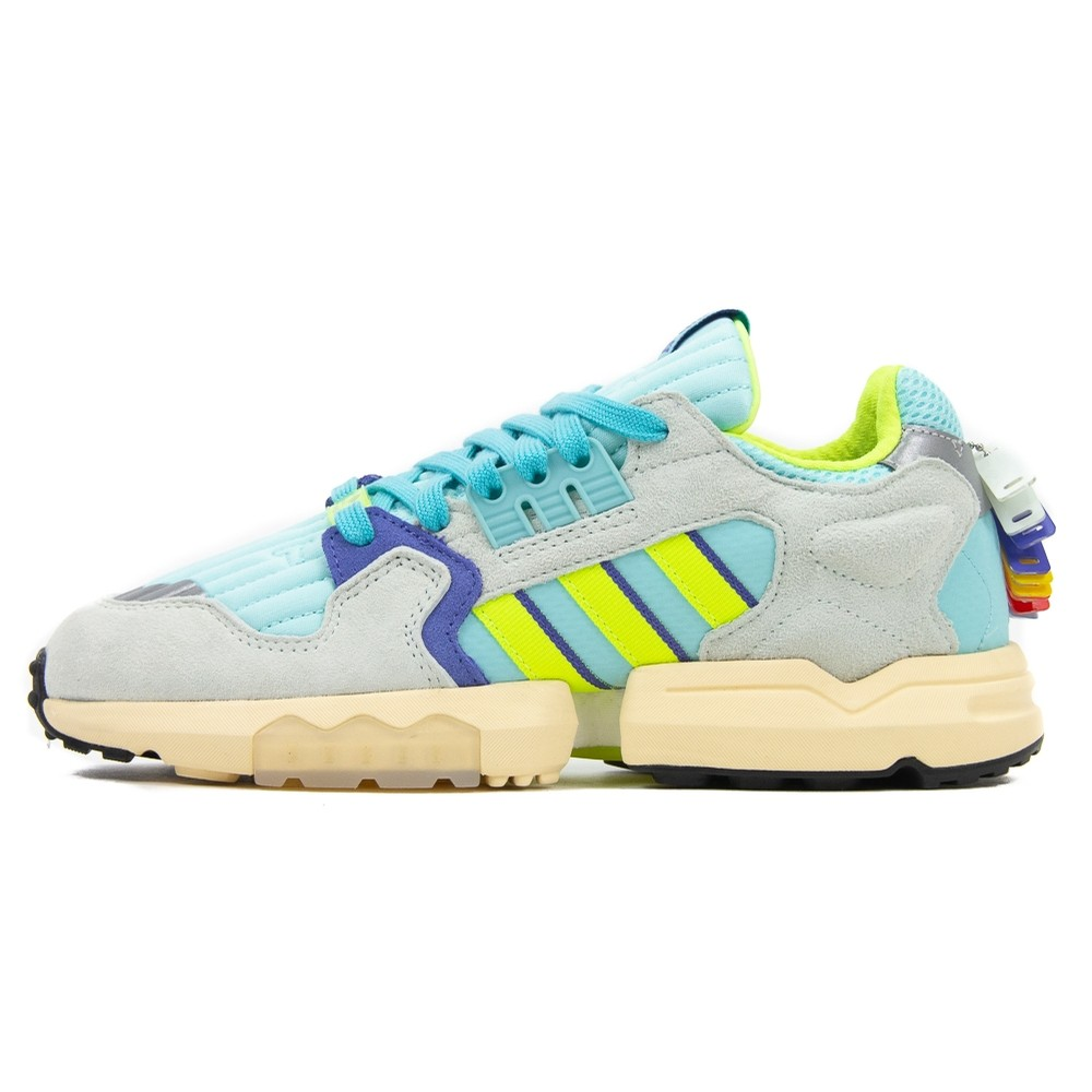 ZX Torsion (Clear Aqua/Solar Yellow/Purple)