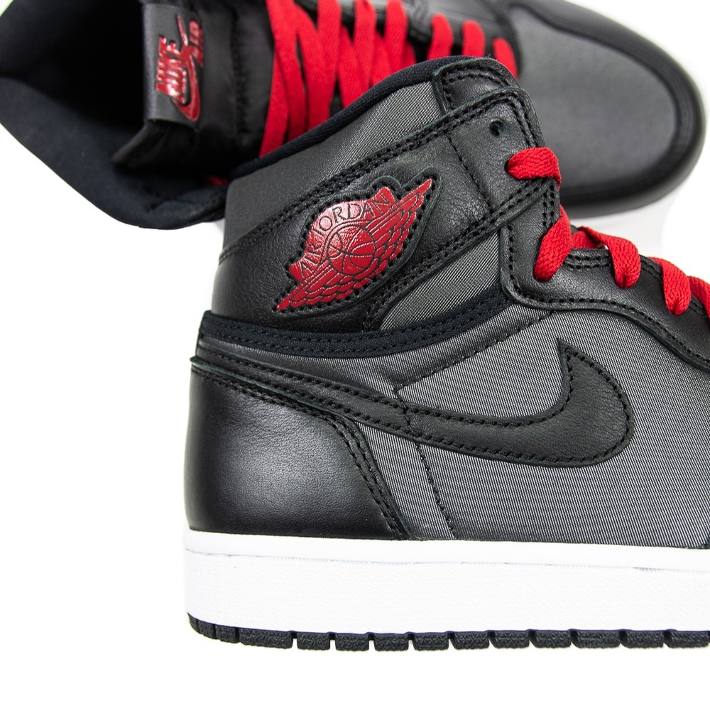Air Jordan 1 Hi OG GS (Blk/red)