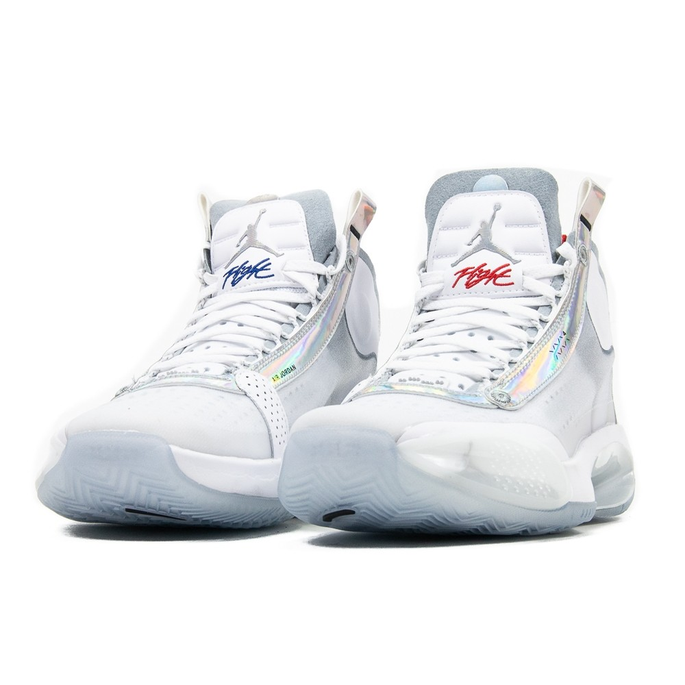 Air Jordan XXXIV (White/Metallic Silver/White)