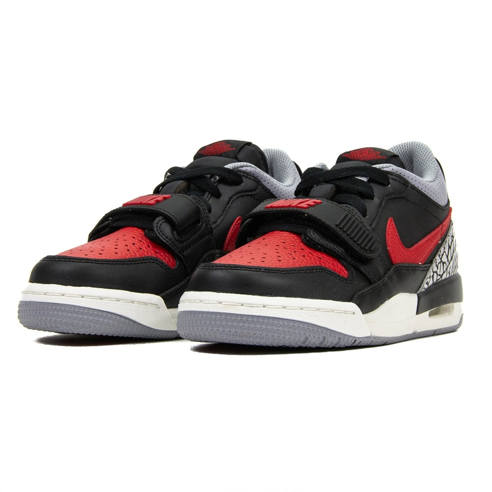 Air Jordan Legacy 312 Low GS (Black/Varsity Red)