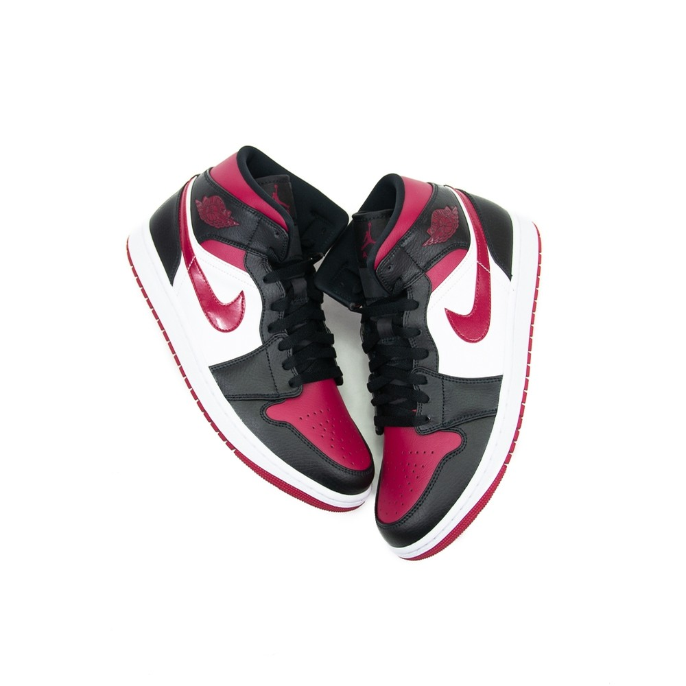 Air Jordan 1 Mid (Bred Toe)