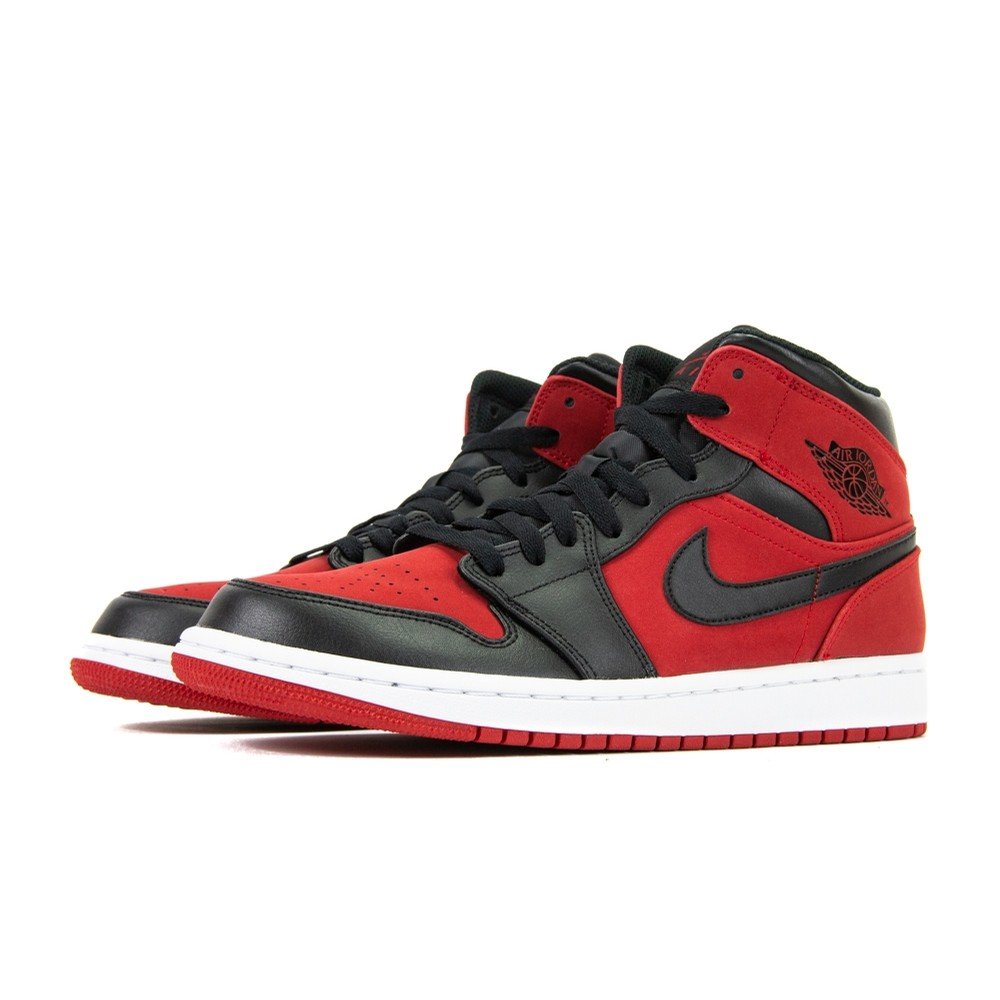Air Jordan 1 Mid (Gym Red/Black)