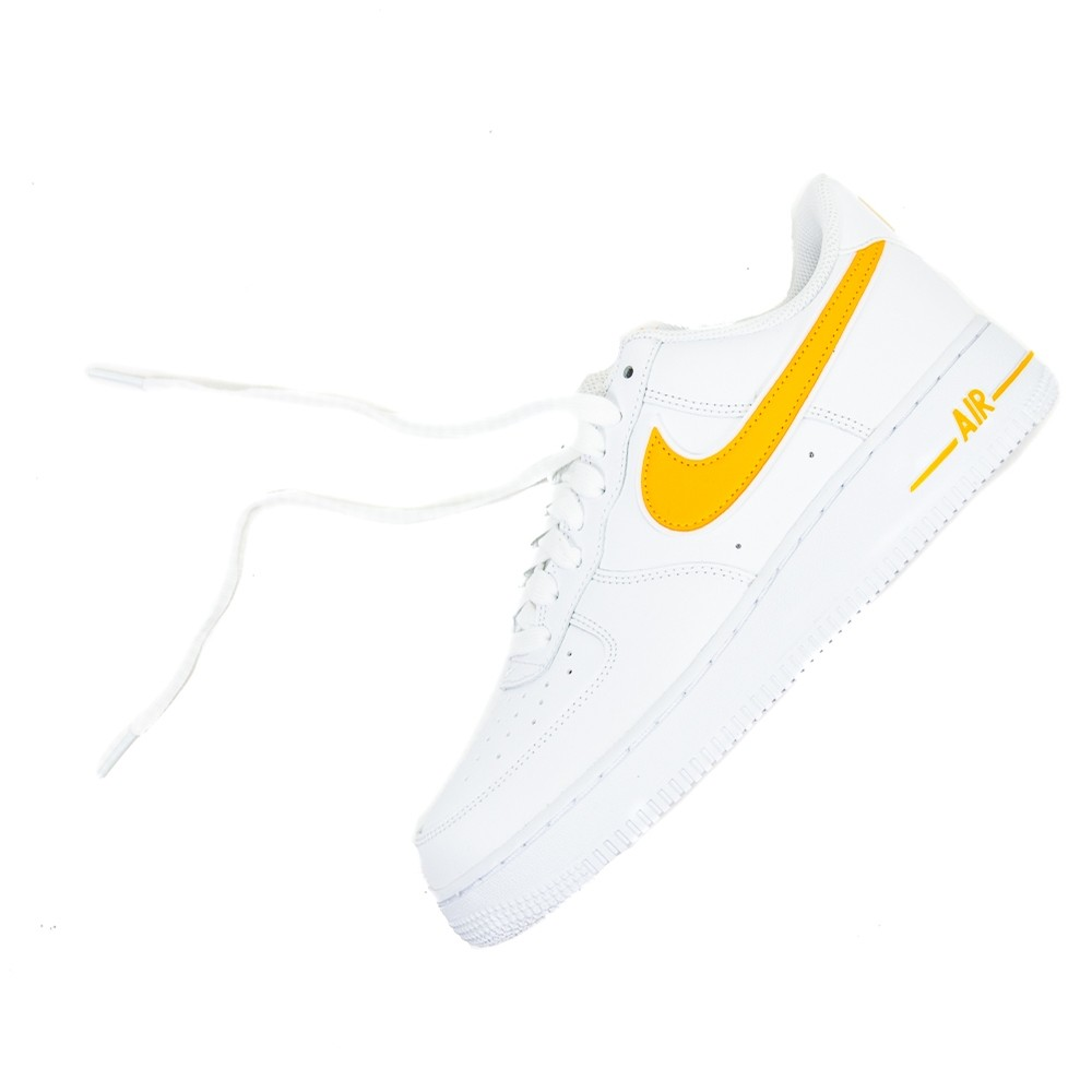 Air Force 1 07 3 (White/University Gold)