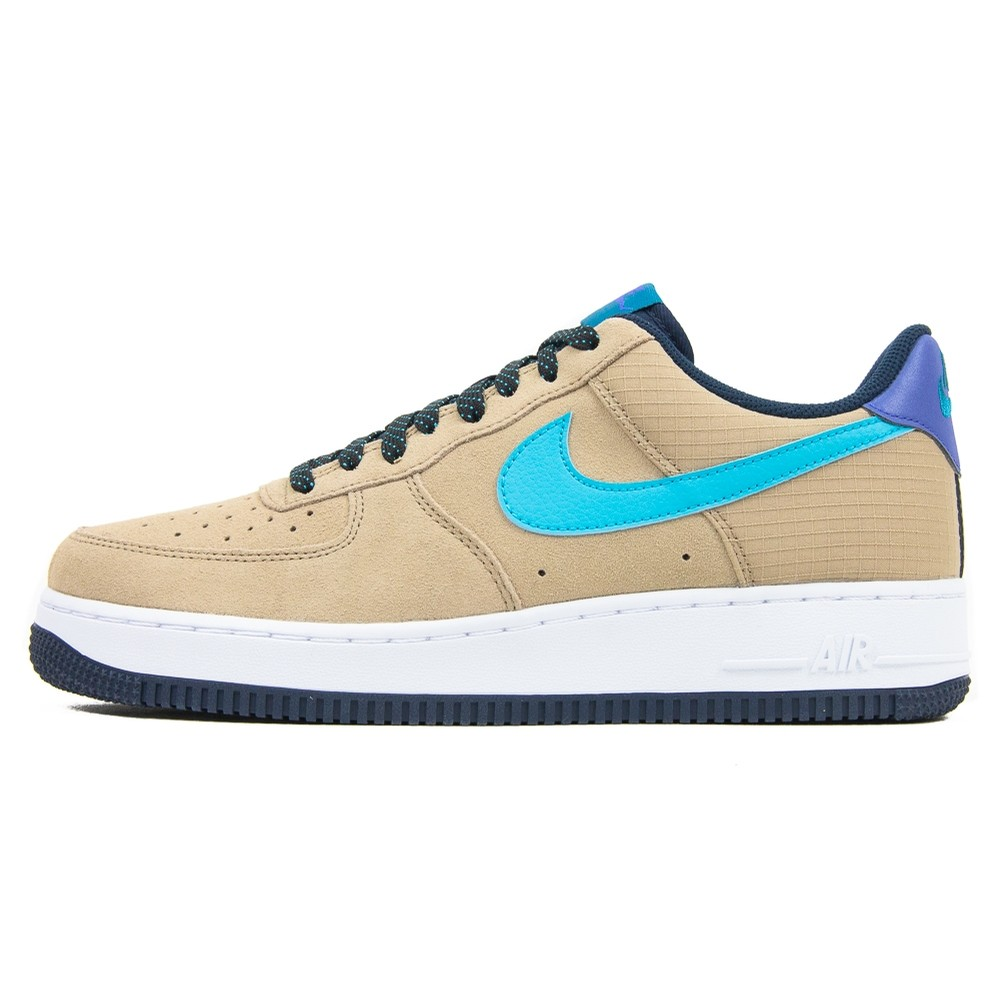 Air Force 1 07 LV8 2 (Khaki/Blue Fury/Persian Violet)