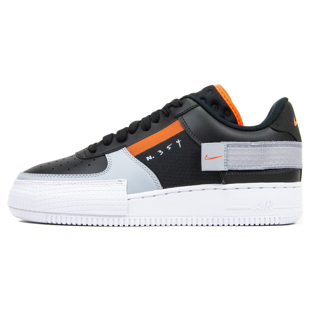 AF1-Type (Black/Hyper Crimson/Wolf Grey)