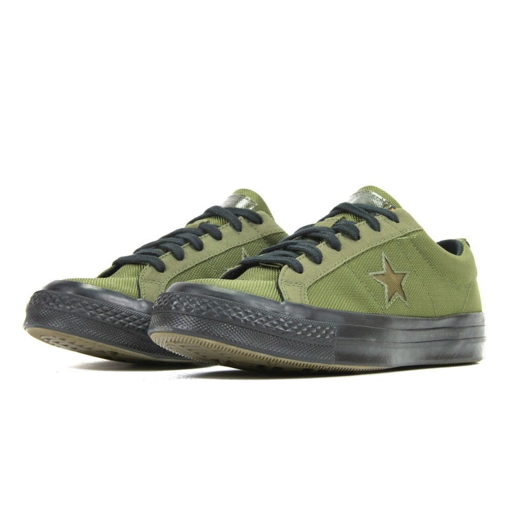 Converse One Star Ox Carhartt (Herbal/Medium Olive/Black)