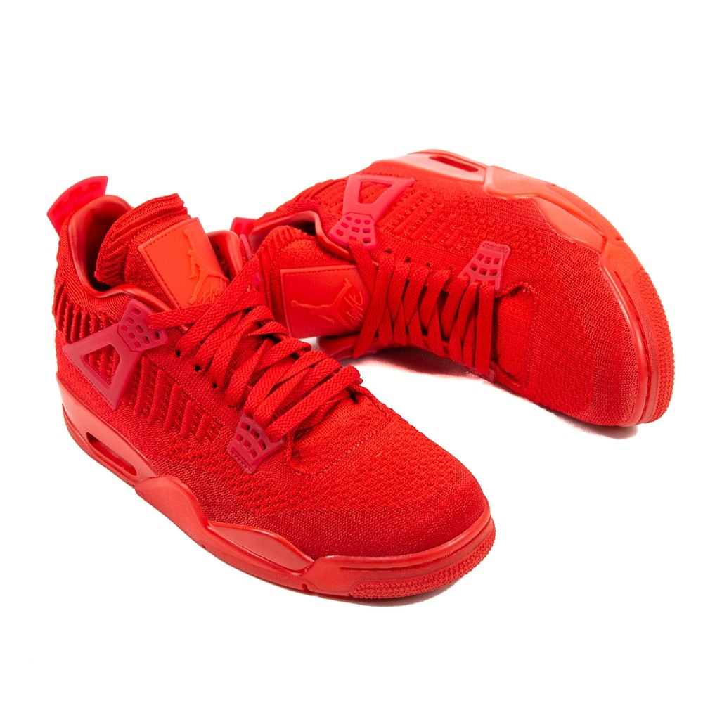 Air Jordan 4 Retro Flyknit (University Red/Black)