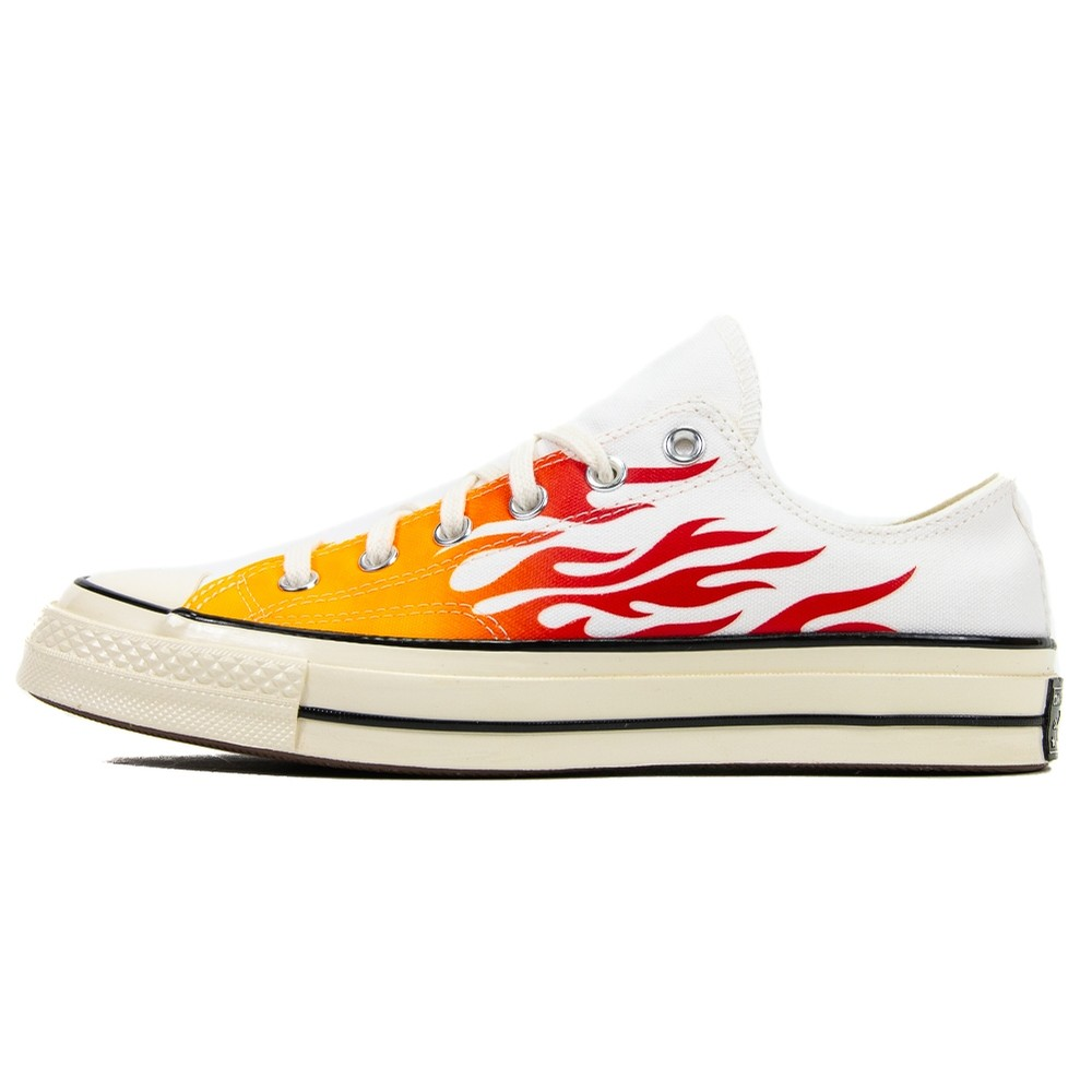 Chuck 70 Ox (White/Flames)