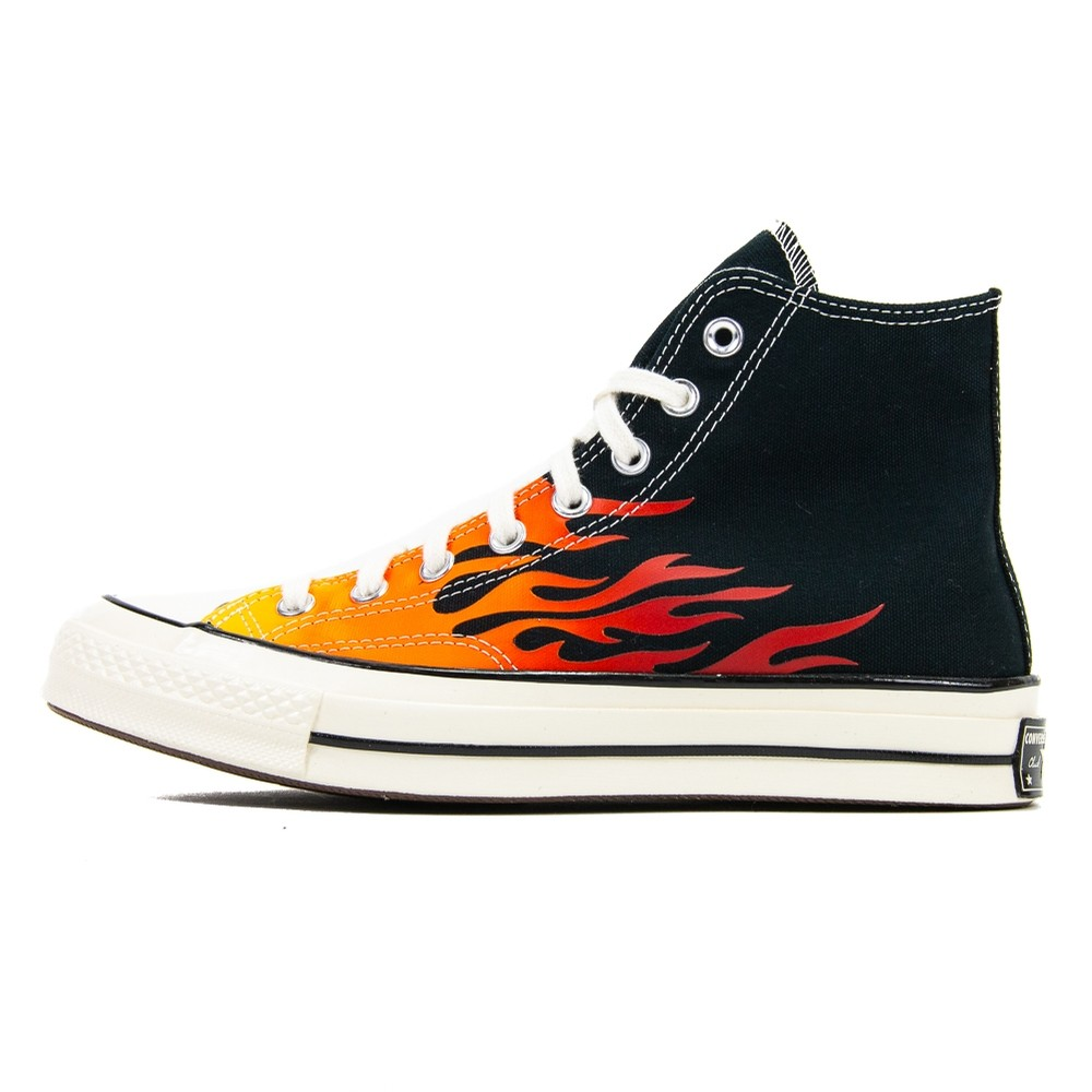 Chuck 70 Hi (Black/Flames)