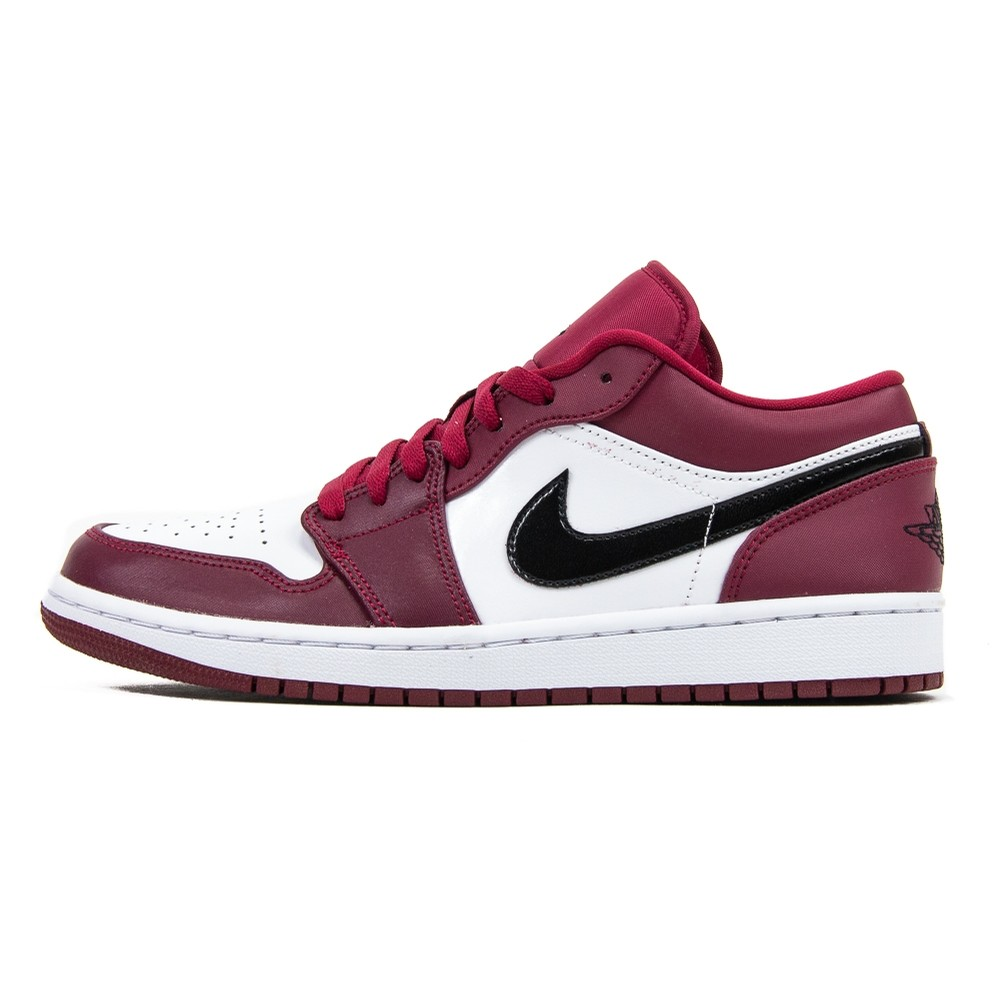 Air Jordan 1 Low (Noble Red/Black/White)