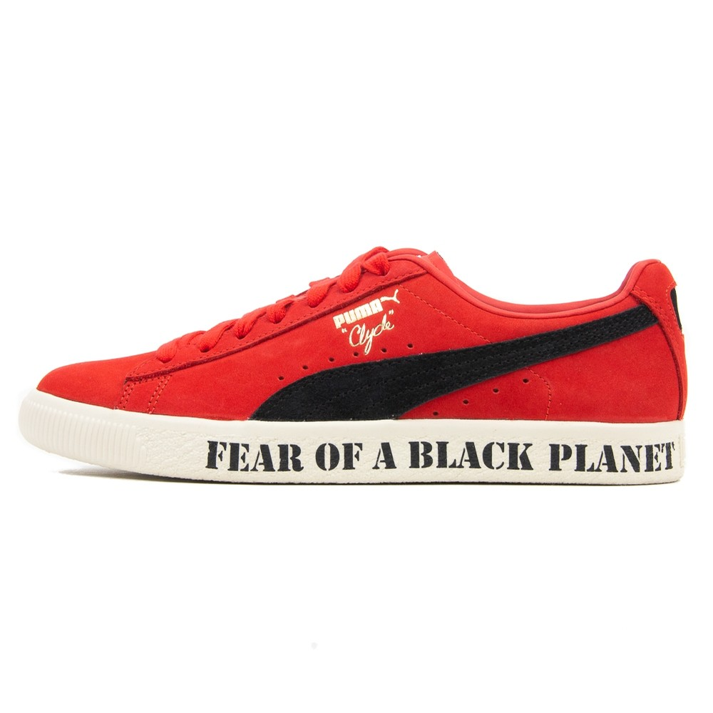 Puma x Public Enemy Clyde (High Risk Red)