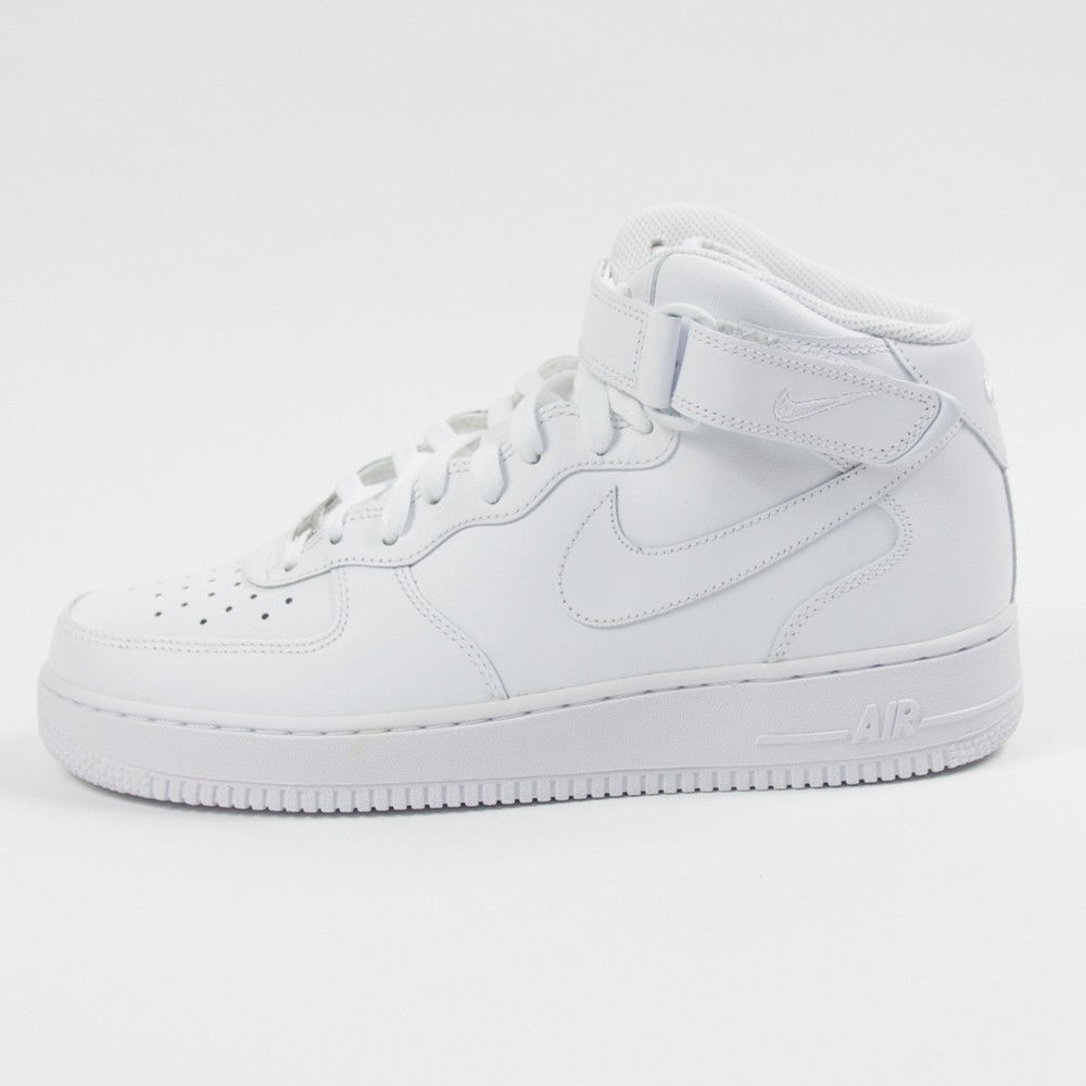 Air Force 1 Mid 07 (White/White)
