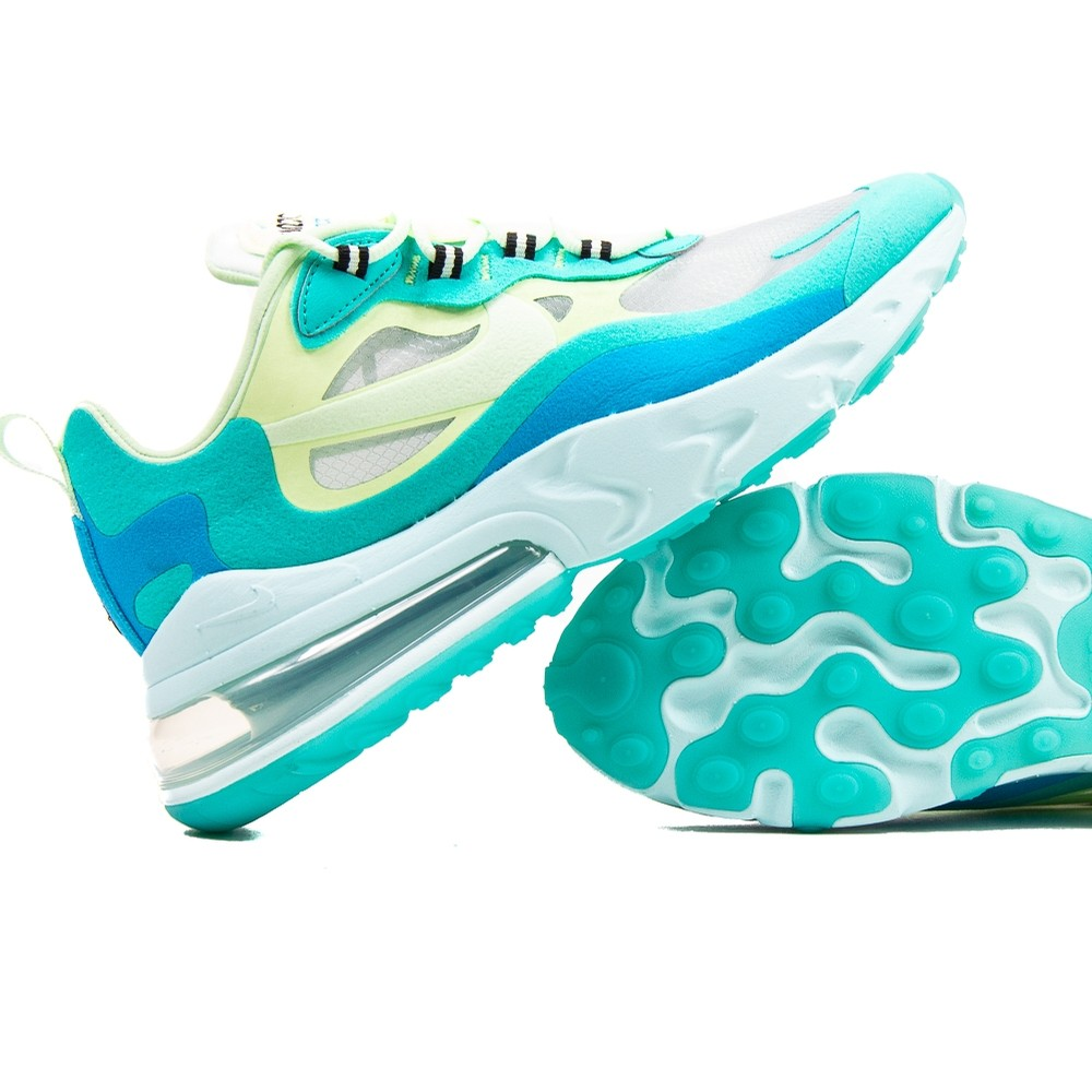 Air Max 270 React (Hyper Jade/Frosted Spruce-Barely Voly)
