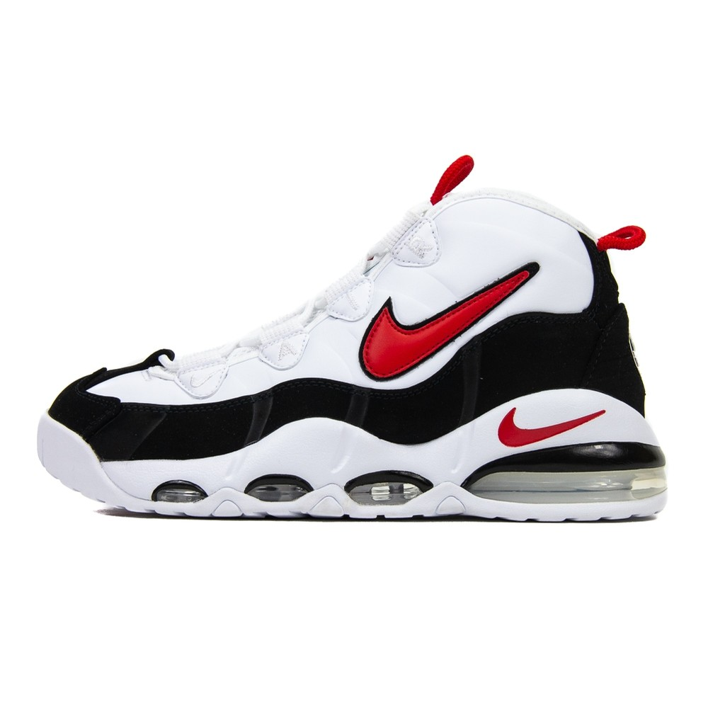 Air Max Uptempo 95 (White/University Red/Black)