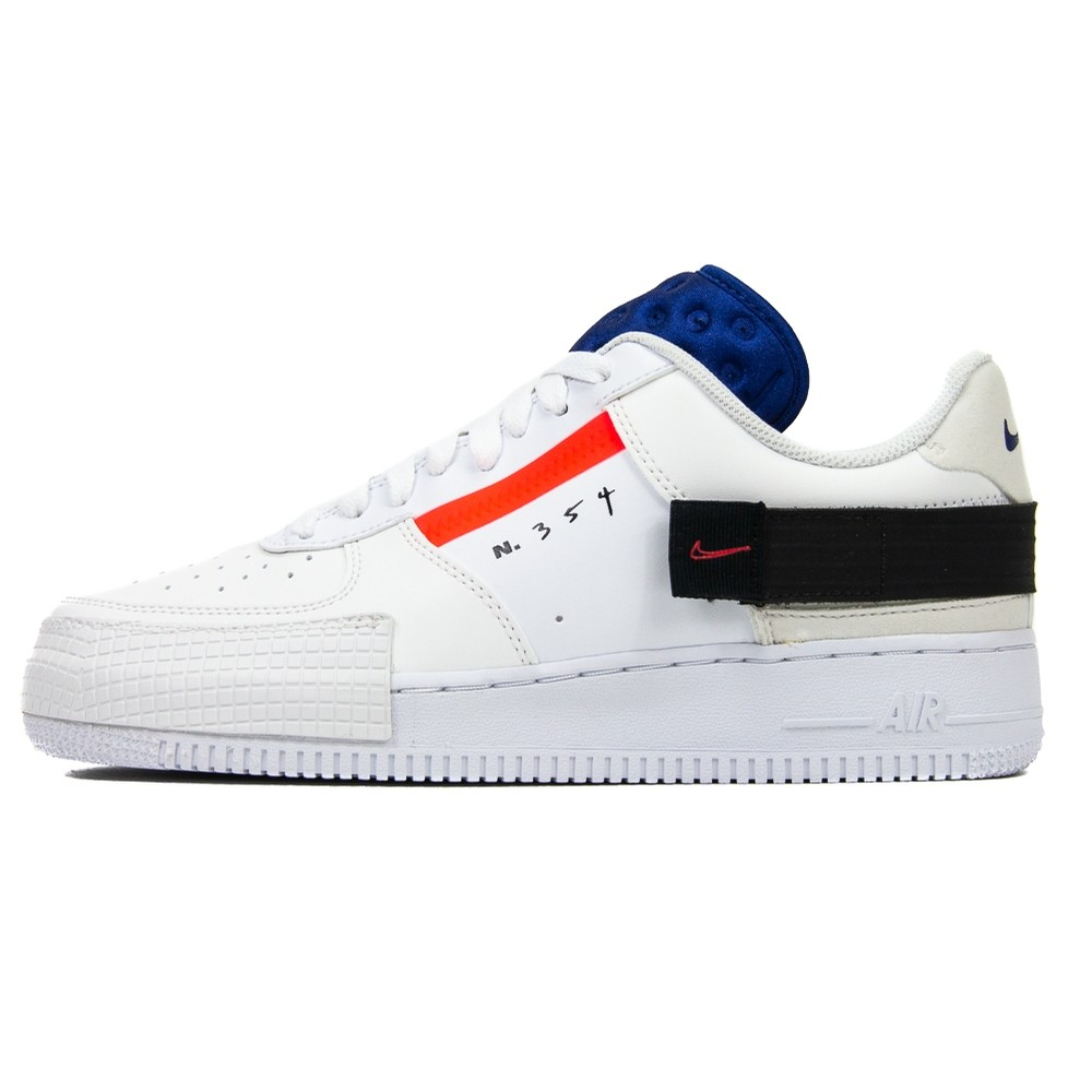 AF1-Type (Summit White/Red Orbit)