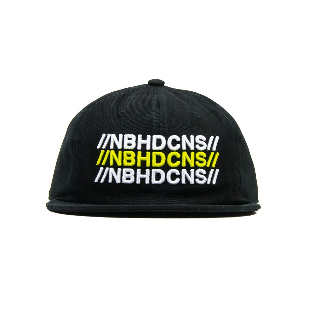 Converse x Neighborhood 6 Pannel Cap (Black)