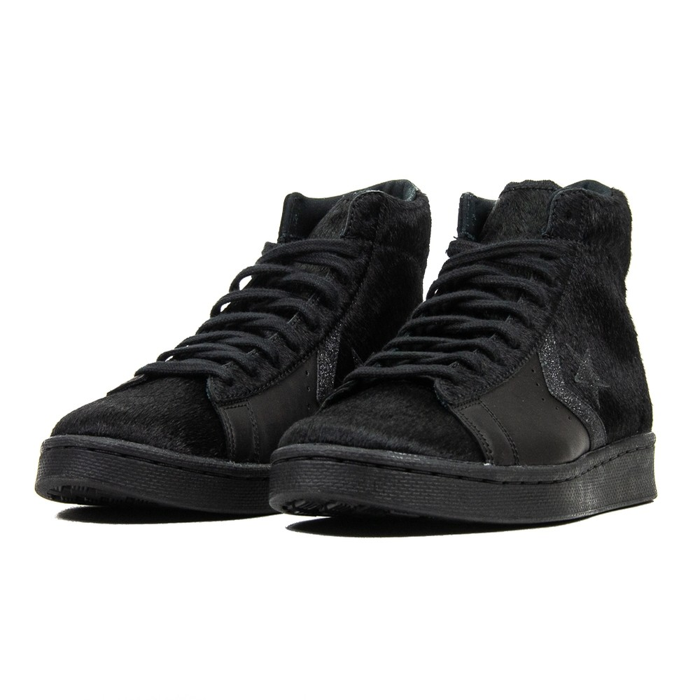 Pro Leather Mid (Black/Black)