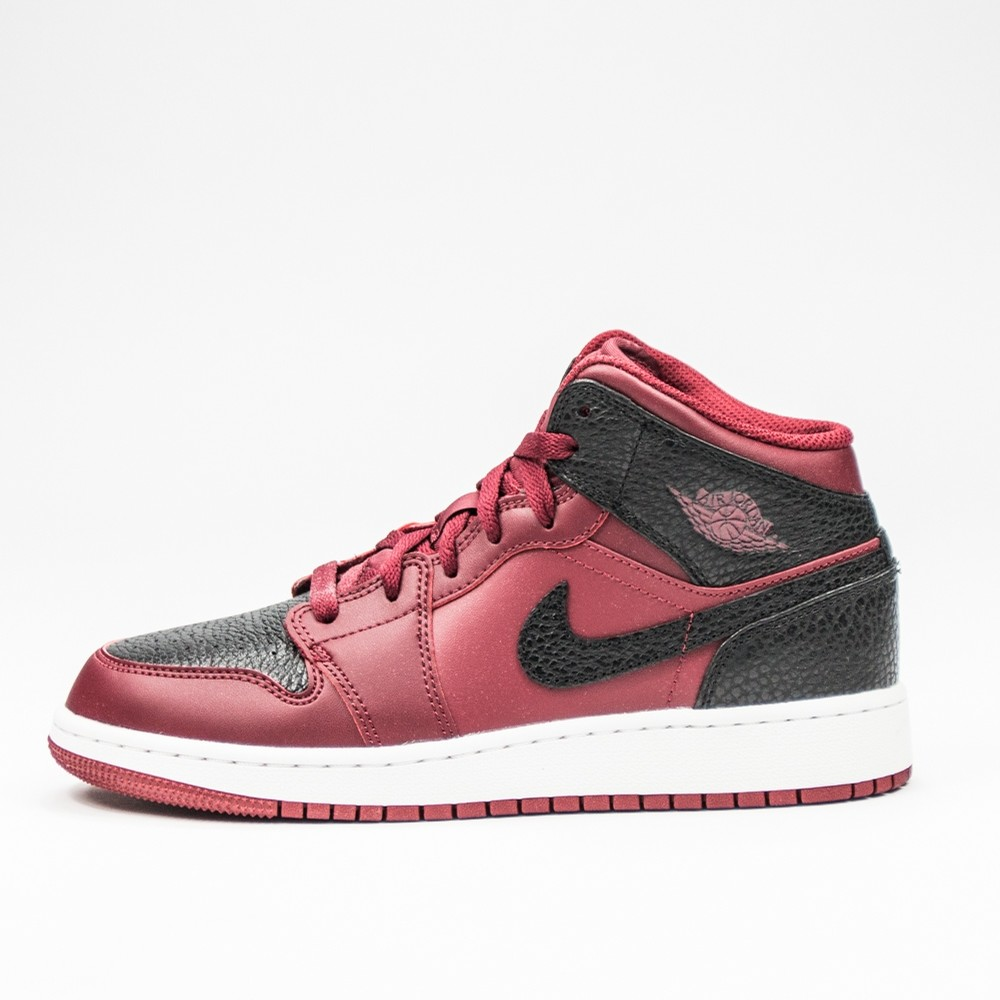 Air Jordan 1 Mid BG (Team Red/Black)