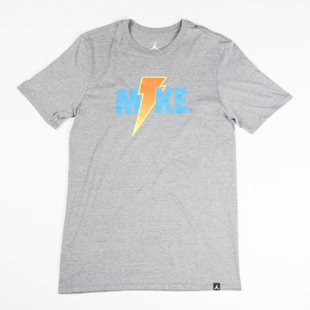 Jordan Like Mike Lightning Tee (Heather)