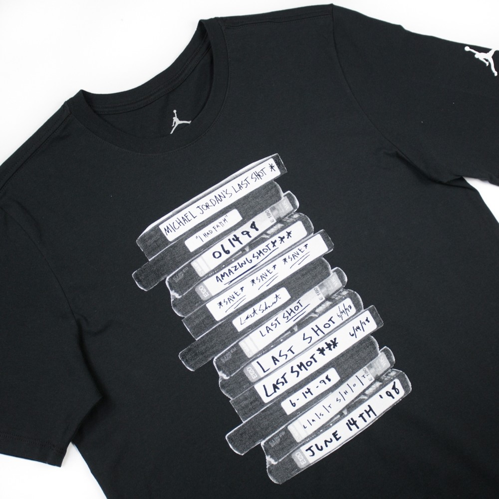 MJs Last Shot Tee (Black)