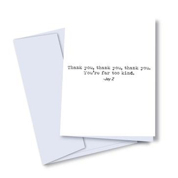 Jay Thanks Card