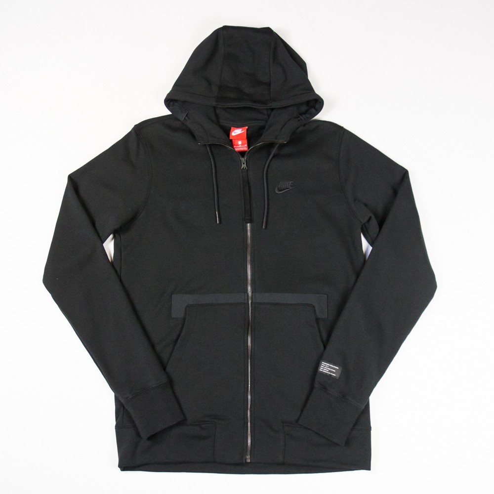 Nike Air Force 1 Zip Hoodie (Black)