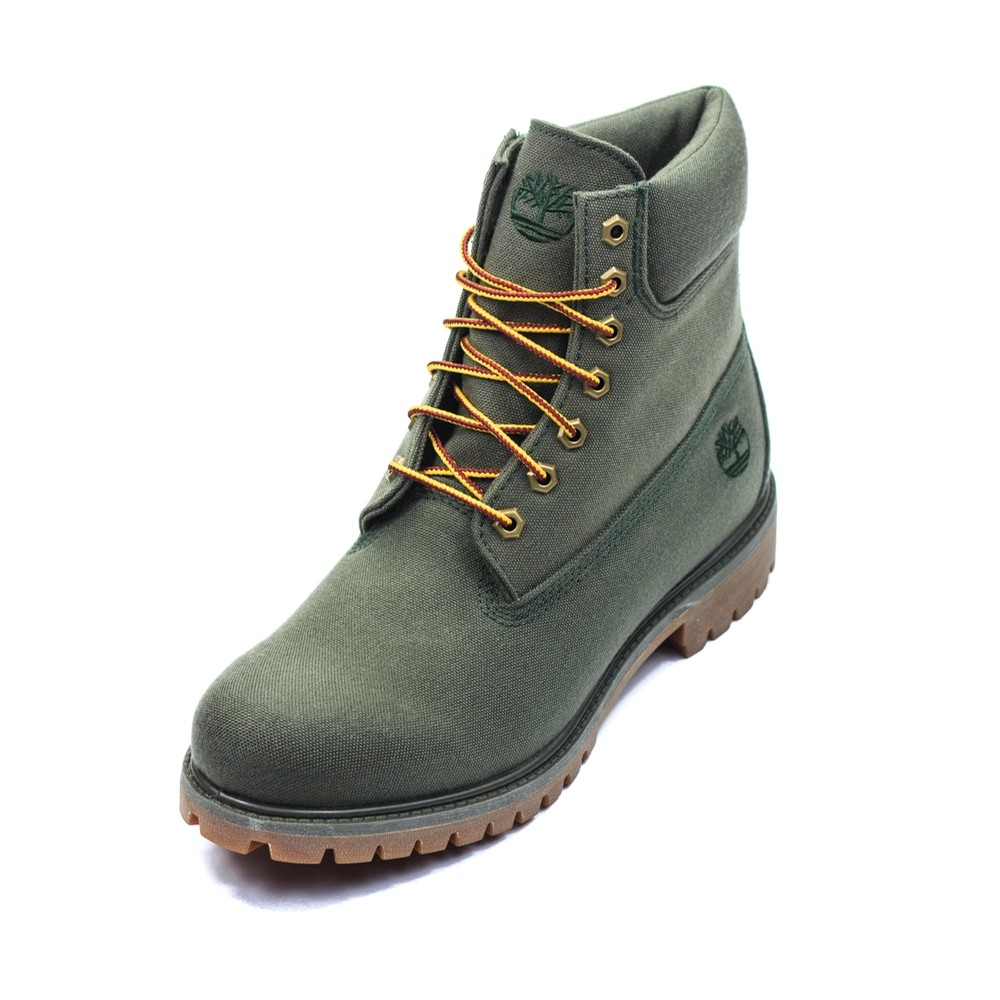 6 Inch Fabric Boot (Dark Green)