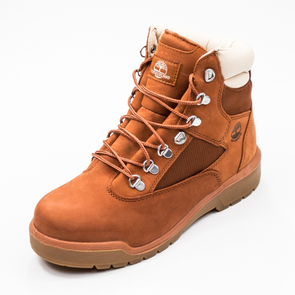6 Inch Field Boot (Dark Orange Nubuck)