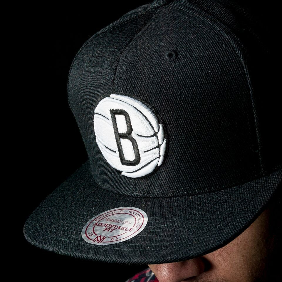 Brooklyn Nets NBA Current Wool Snapback