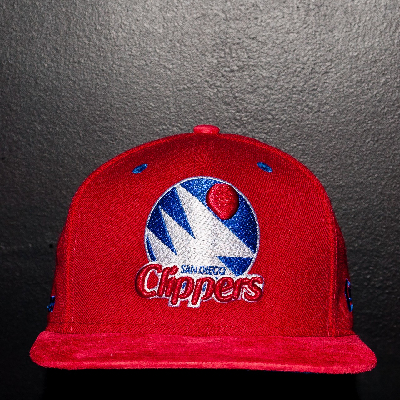 LA Clippers Suede Strap Back