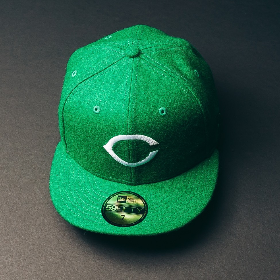 Cincinnati Reds Fitted Cap (St. Patricks Day)