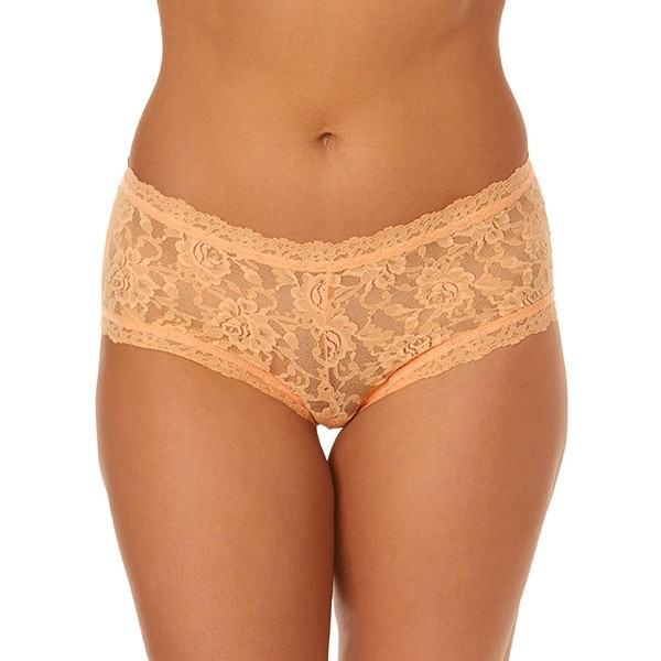 Signature Lace Boyshort (Apricot Crush Orange)