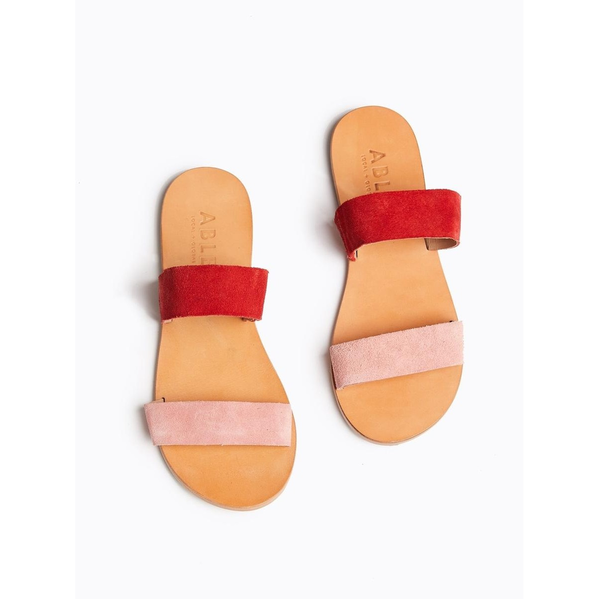 Joselyne Double Strap (Red/Rose)
