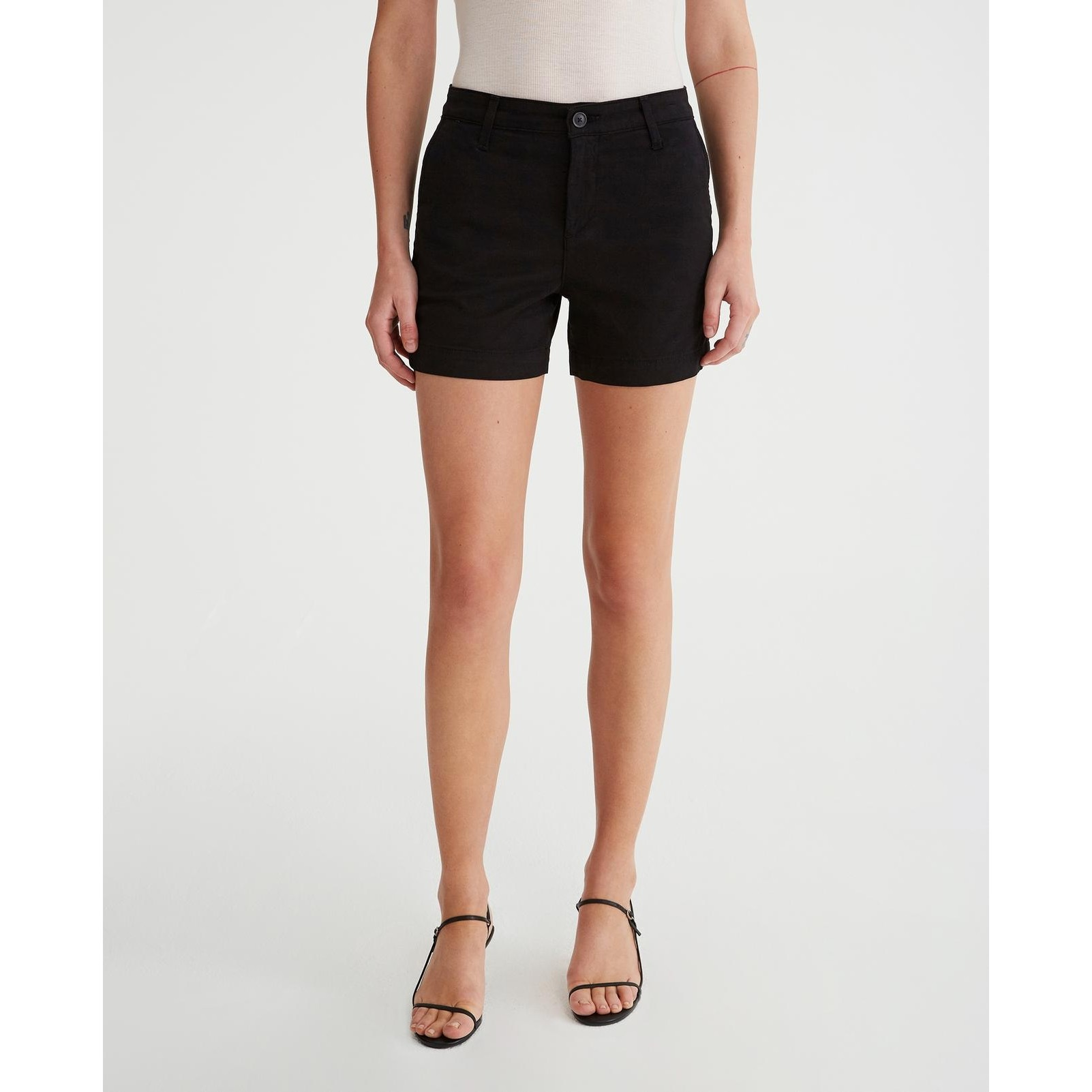 The Caden Trouser Short (Super Black)