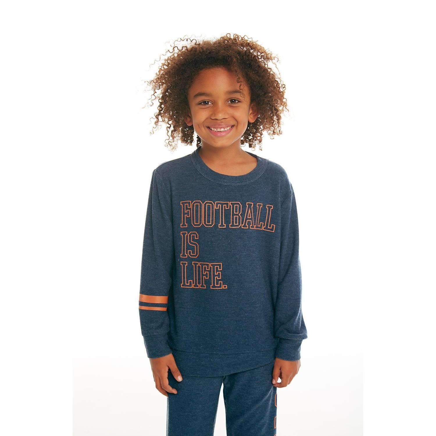 Football Cozy Knit Pullover Sweater (Avalon)