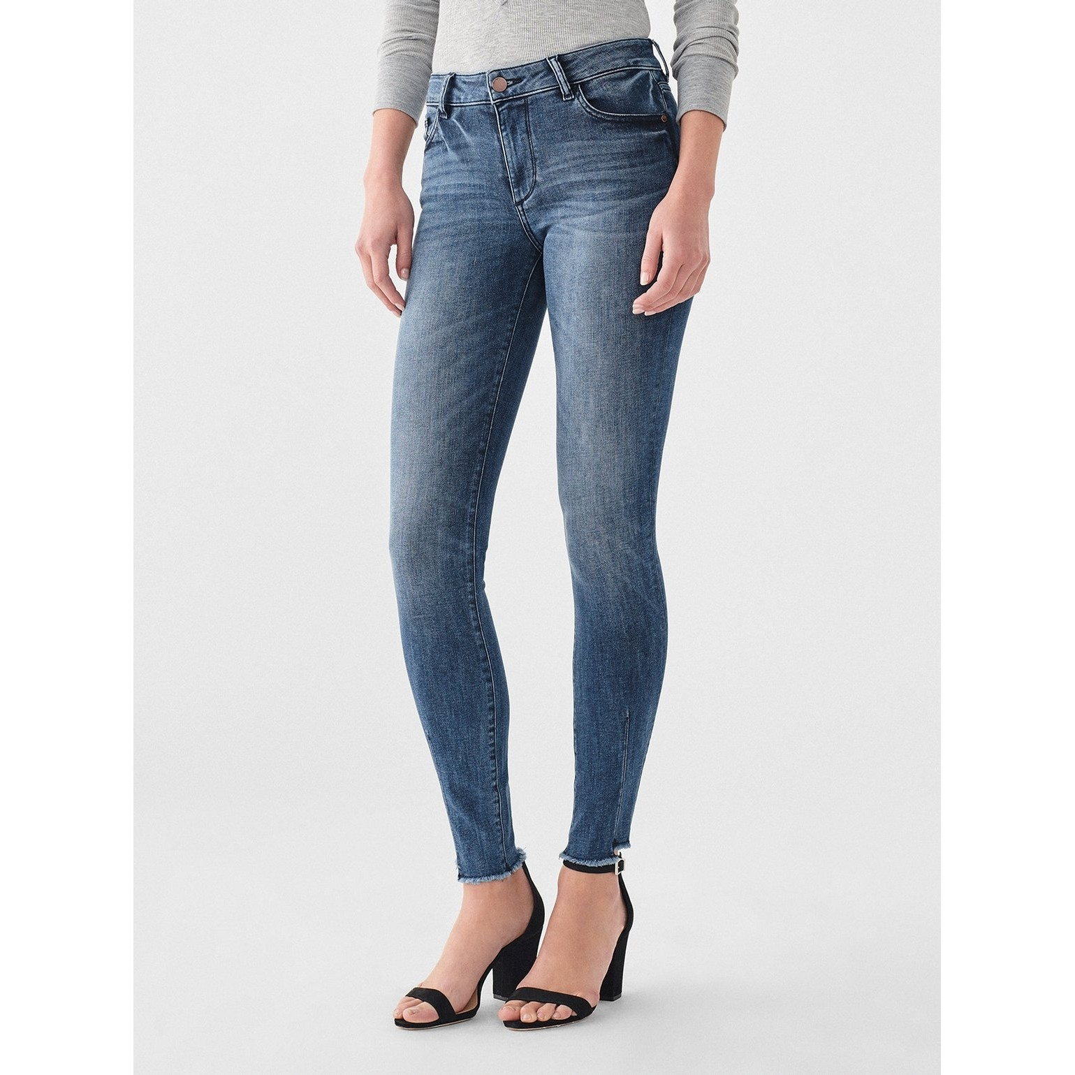 Florence Mid Rise Instasculpt Skinny (Barbon)