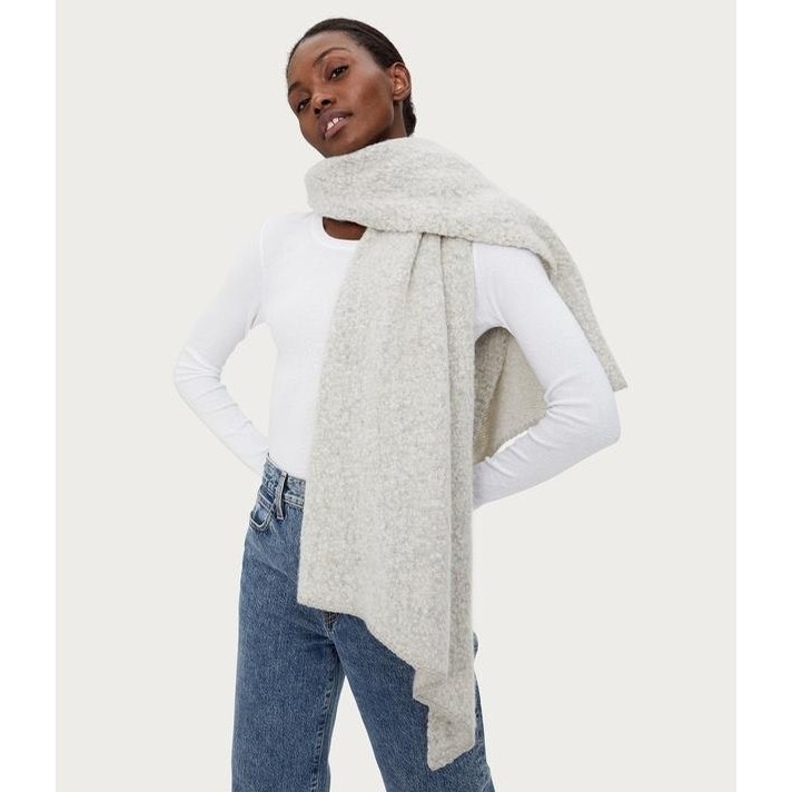 Edie Wrap (Heather Grey)