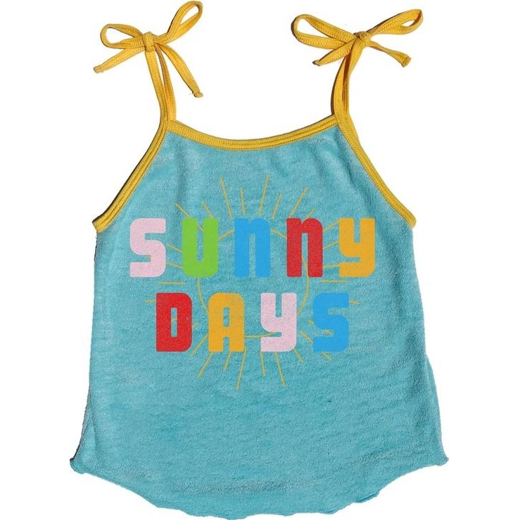 Sunny Days Terry Tank Top (Bluest Skies)