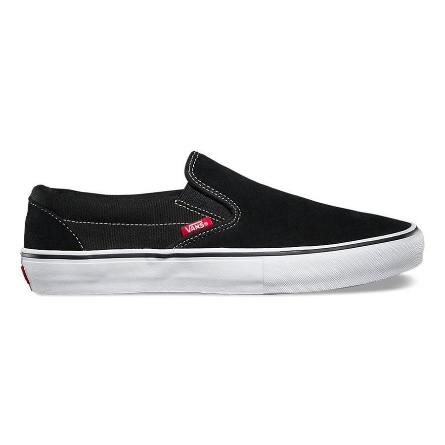 Slip On Pro | Black/White/Gum