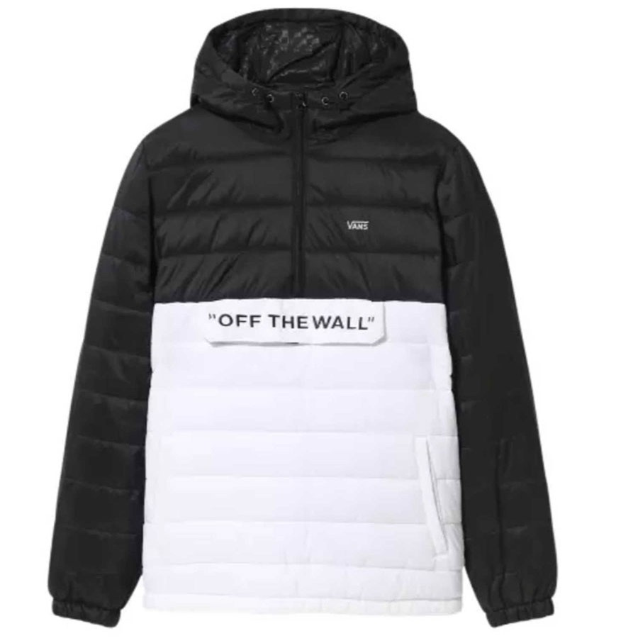 Carlon Anorak Puffy | White/Black