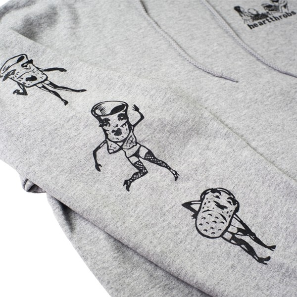 Cups Hoodie | Gray Heather