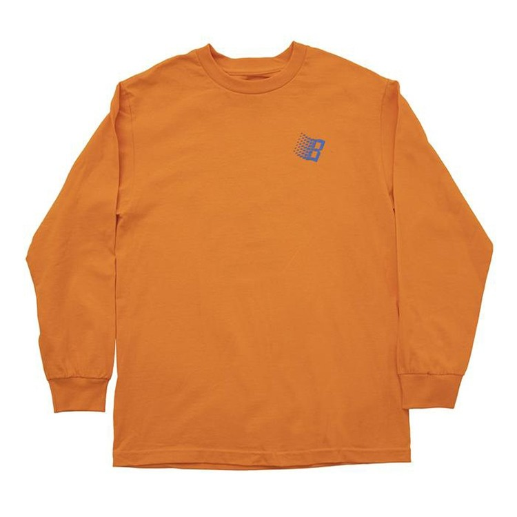Bronze B Logo Tree Longsleeve (Orange)