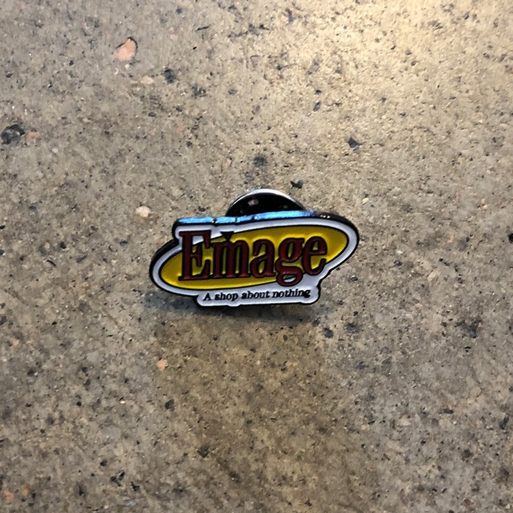 Emage Seinfeld Pin