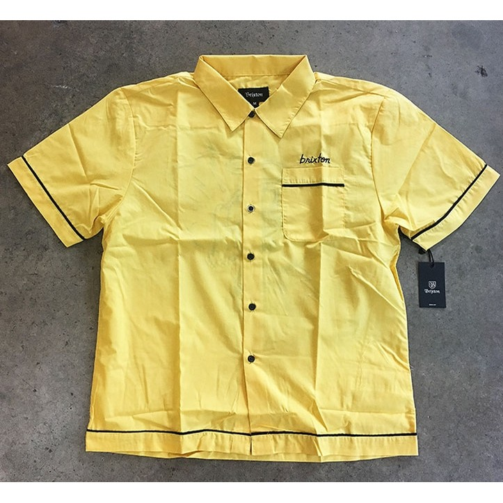 Irving S/S Woven (Yellow)