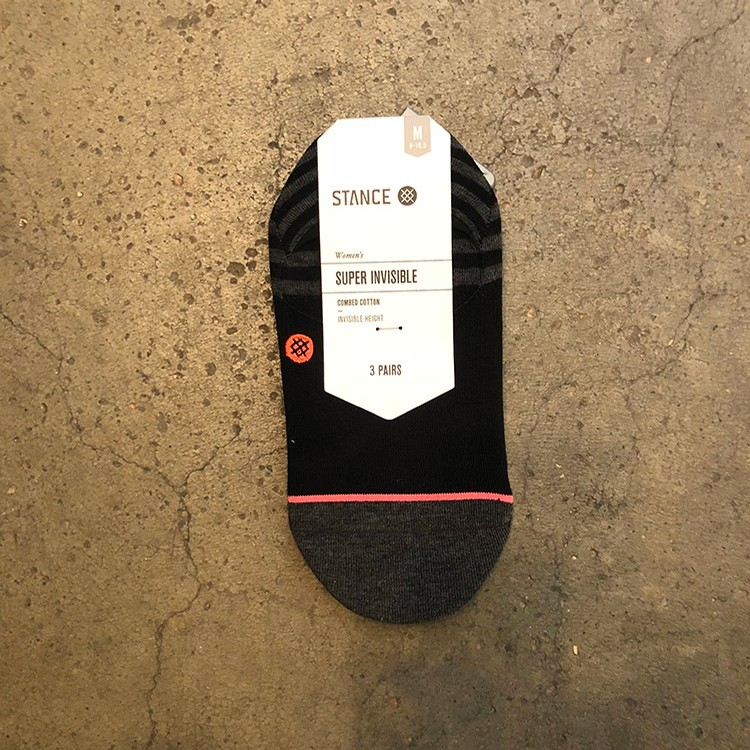 Stance Invisible 3 Pack (Black)