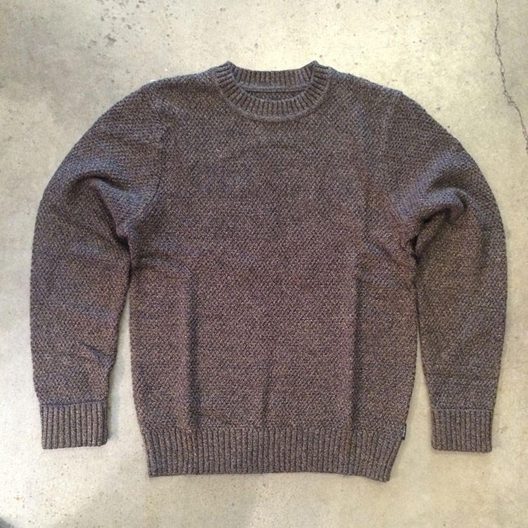 Neptune Sweater (Heather Brown)