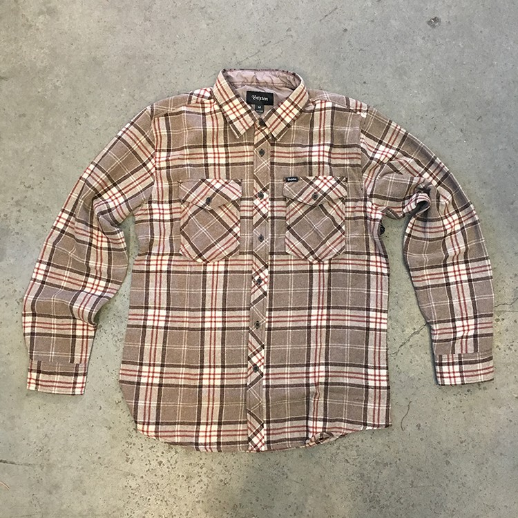 Weldon Flannel (Lt. Brown)
