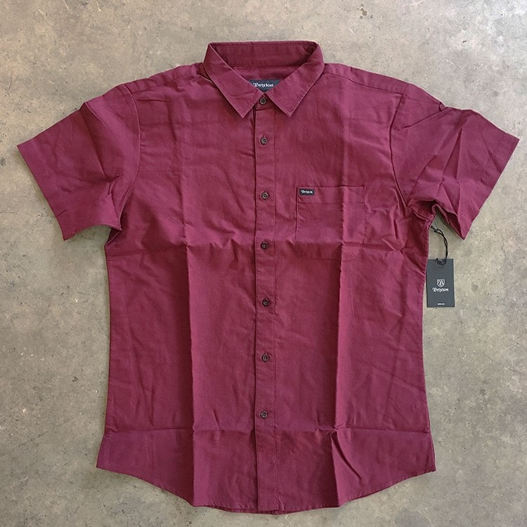Charter S/S (Maroon)