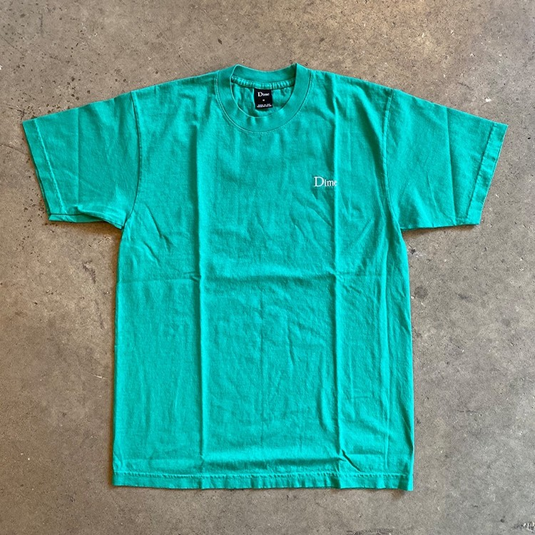 Classic Logo Embroidered Tee (Emerald)